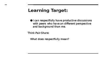 NYS CC ELA GR6 Module 2A Unit 3 Lesson 1: Rules to Live By