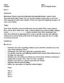 NYS CC ELA Regents Part 2 Argument Graphic Organizer & Outline