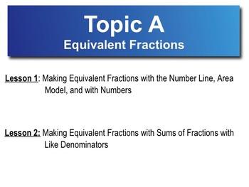 5th Grade CC Math Module 3 Topic A Lessons 1-2
