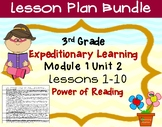 Expeditionary Learning 3rd Grade Lesson Bundle Module 1 Un