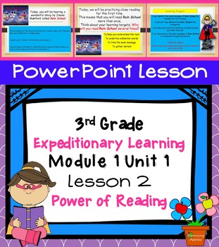 Expeditionary Learning 3rd Grade Power Point Lesson Module 1 Unit 1 Lesson 2