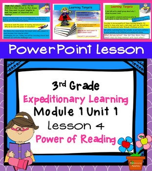 Expeditionary Learning 3rd Grade Power Point Lesson Module 1 Unit 1 Lesson 4