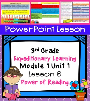 Expeditionary Learning  3rd Grade Power Point Lesson Module 1 Unit 1 Lesson 8