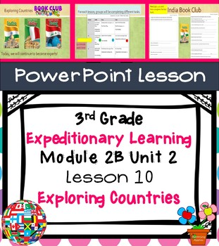 Expeditionary Learning 3rd Grade Module 2B Unit 2 Lesson 10