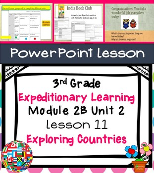 Engage NY Expeditionary Learning 3rd grade Module 2B Unit 2 Lesson 11 PowerPoint