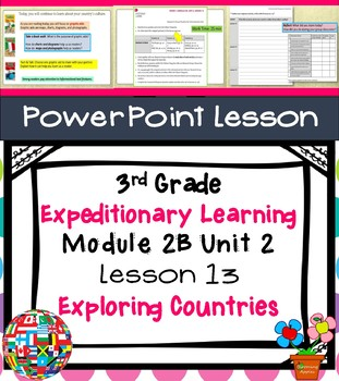 Expeditionary Learning 3rd Grade Power Point Lesson Module 2B Unit 2 Lesson 13