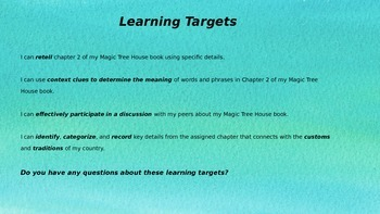 Engage NY Expeditionary Learning  3rd grade Module 2B Unit 2 Lesson 2 PowerPoint