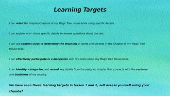 Engage NY Expeditionary Learning  3rd grade Module 2B Unit 2 Lesson 3 PowerPoint