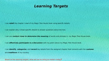 Engage NY Expeditionary Learning 3rd grade Module 2B Unit 2 Lesson 4 PowerPoint