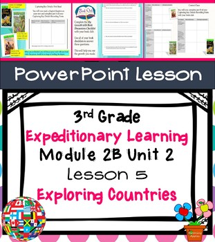 Engage NY Expeditionary Learning 3rd grade Module 2B Unit 2 Lesson 5 PowerPoint
