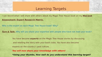 Engage NY Expeditionary Learning 3rd grade Module 2B Unit 2 Lesson 6 PowerPoint