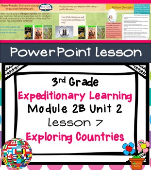 Expeditionary Learning 3rd Grade Module 2B Unit 2 Lesson 7