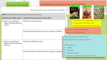 Engage NY Expeditionary Learning 3rd grade Module 2B Unit 2 Lesson 8 PowerPoint