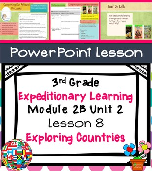 Expeditionary Learning 3rd Grade Module 2B Unit 2 Lesson 8