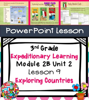 Engage NY Expeditionary Learning 3rd grade Module 2B Unit 2 Lesson 9 PowerPoint