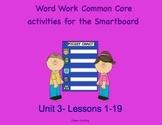NYS Common Core ELA Skill Strand Unit 3 for First Grade (Smartboard)
