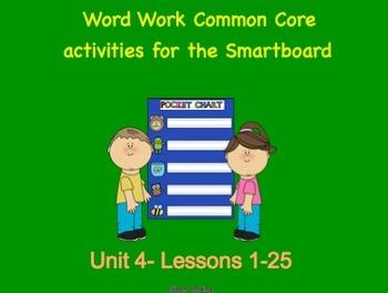 NYS Common Core ELA Skill Strand Unit 4 for First Grade (Smartboard)