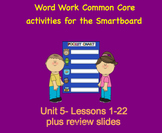 NYS Common Core ELA Skill Strand Unit 5 for First Grade (S