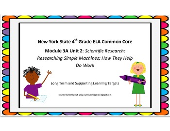 NYS Common Core Grade 4 Module 3A Unit 2