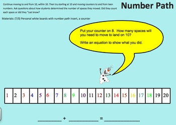 NYS Common Core Math Module 2 for First grade Smartboard Activities