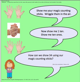 NYS Common Core Math Module 4 for First grade Smartboard Activities