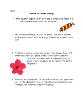 NYS Common Core NY 3rd Grade Eureka Math Module 1 Problem Solving