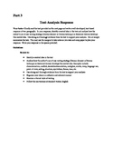 NYS Common Core Regents ELA Exam, Part 3 Practice- At the