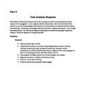 NYS Common Core Regents ELA Exam, Part 3 Practice- Names/Nombres