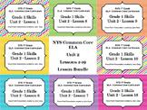 1st Grade NYS Common Core ELA Unit 2 Lessons 1-19 Bundled