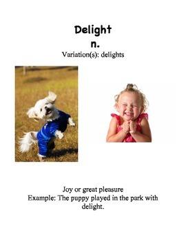 NYS ELA L&L Module 9 Fairy Tales Vocabulary