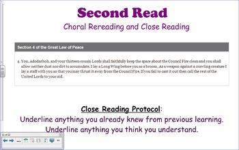 NYS ELA Module 1, Unit 1, Lesson 4 Notebook Lesson