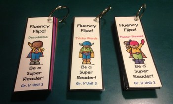 NYS ELA Skill Strand Modules First Grade Unit 1 Fluency Flip Cards