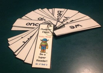 NYS ELA Skill Strand Modules First Grade Unit 4 Fluency Flip Cards