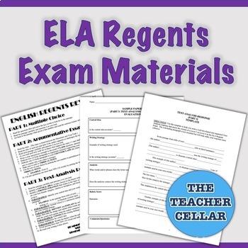 NYS ELA Regents Preparation Materials - Template, Samples, Study Guide & More
