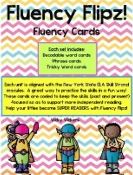 NYS ELA Skill Strand Modules First Grade Unit 6 Fluency Flip Cards