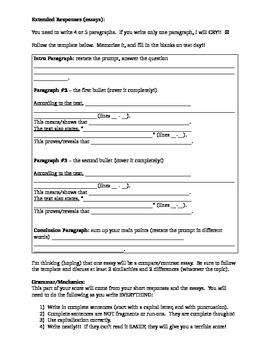 NYS ELA Test Prep 7th and 8th grade