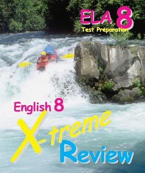 English Language Arts exam review (test preparation) 8th grade