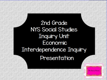 NYS Economic Interdependence Inquiry Flipchart