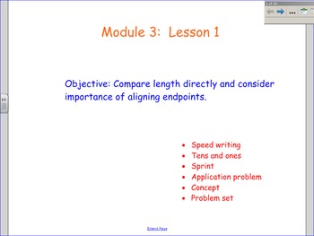 NYS Engage NY First Grade Math Module 3 Smart Board Lessons