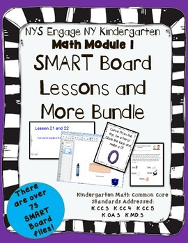 Engage NY Kindergarten Math Module 1 SMART Board and more!