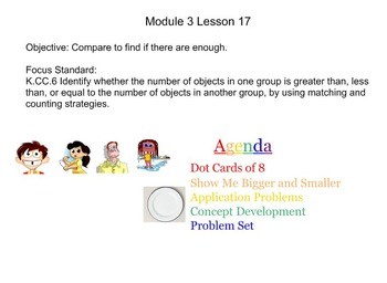 NYS Engage NY Kindergarten Math Module 3 Smart Board Lessons
