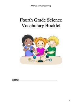NYS Fourth Grade Science Vocabulary Booklet