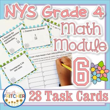 NYS Grade 4 Math Module 6 Task Cards