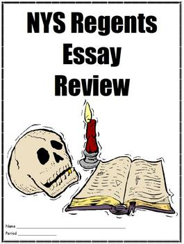 NYS Global History Essay Review -- Abbreviated