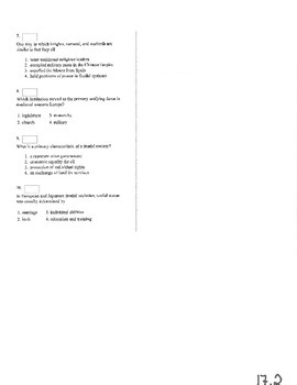 NYS Global History Regents Review Part 2 of 4