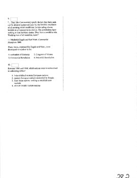 NYS Global History Regents Review Part 3 of 4