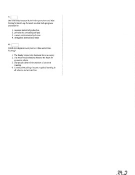 NYS Global History Regents Review Part 4 of 4