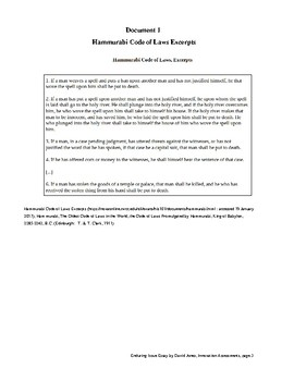 Regents Global 9 Week 30 Enduring Issue Essay No Ei35