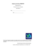 NYS Global Studies 9 Enduring Issue Essay **New Regents Style**