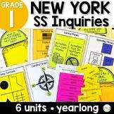 NYS Grade 1 Social Studies Inquiries BUNDLE